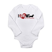 Dachshund [wire-haired] Long Sleeve Infant Bodysui