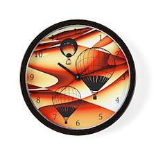 Abstract Hot Air Ballon Wall Clock
