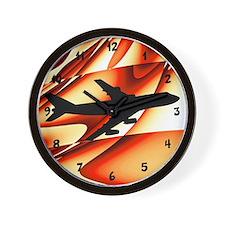 Airplane Pilot Wall Clock