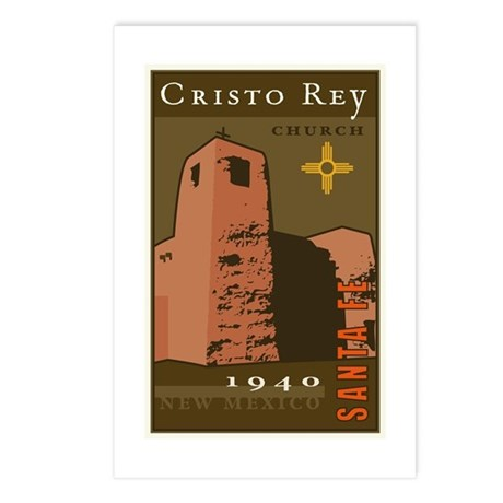 Cristo Rey Postcards (Package of 8)