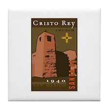 Cristo Rey Tile Coaster