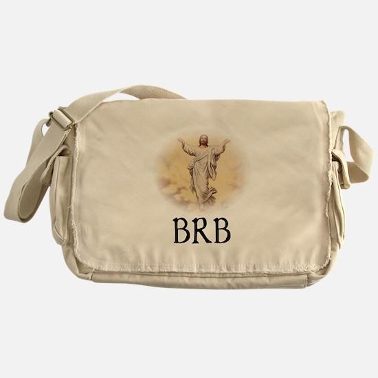 Jesus BRB Messenger Bag