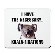 Koala Qualifications Mousepad