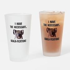 Koala Qualifications Drinking Glass