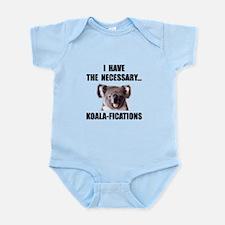 Koala Qualifications Infant Bodysuit
