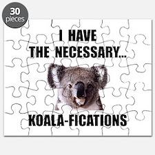 Koala Qualifications Puzzle