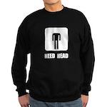 Need Head Sweatshirt (dark)