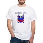 Caliburn Lodge #785 White T-Shirt