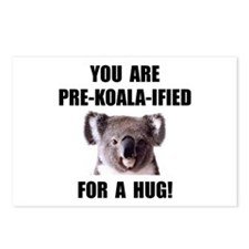 Pre Koala Qualified Hug Postcards (Package of 8)