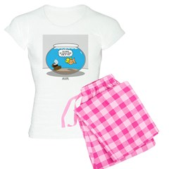 Fishbowl Treasure Women's Light Pajamas