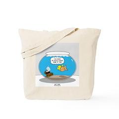 Fishbowl Treasure Tote Bag