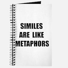 Similes Metaphors Journal