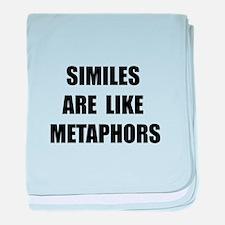 Similes Metaphors baby blanket