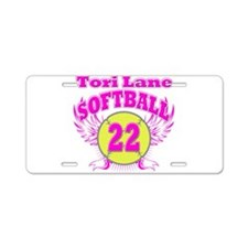 Tori Lane Aluminum License Plate