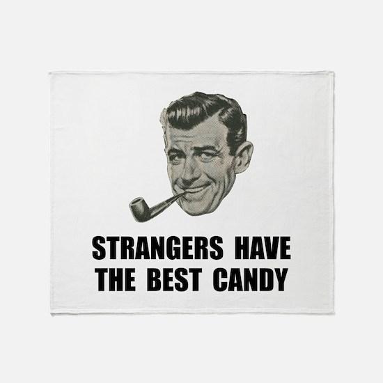Strangers Best Candy Throw Blanket