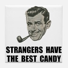 Strangers Best Candy Tile Coaster