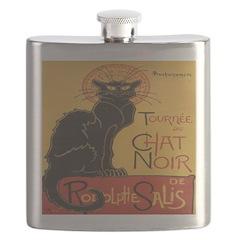 Le Chat Noir Flask