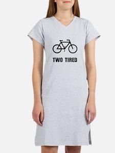 Two Tired Bike Women's Nightshirt
