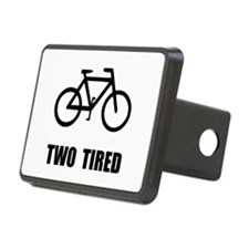 Two Tired Bike Hitch Cover