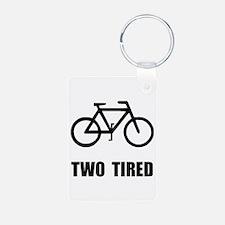 Two Tired Bike Keychains