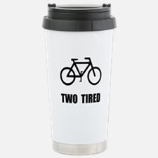 Two Tired Bike Travel Mug