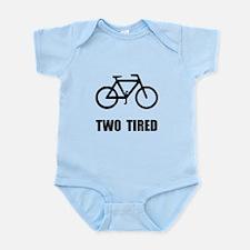 Two Tired Bike Infant Bodysuit