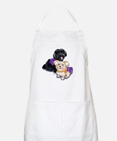 Havanese and Morkie Couple Apron
