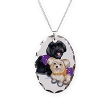 Havanese and Morkie Couple Necklace