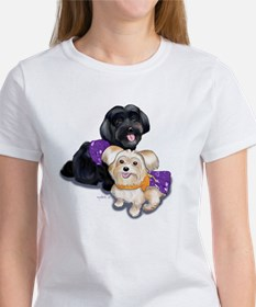 Havanese and Morkie Couple Tee