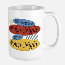 Happens At Poker Night Mug