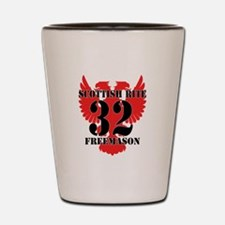 32 Degree Scottish Rite Shot Glass