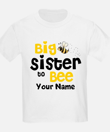 Big Sister to Be Personalized T-Shirt