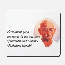 Gandhi Wisdom Mousepad