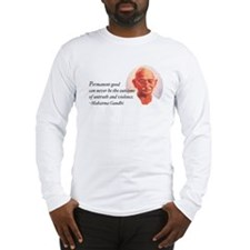 Gandhi Wisdom Long Sleeve T-Shirt