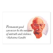 Gandhi Wisdom Postcards (Package of 8)