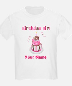 Birthday Girl Cake T-Shirt
