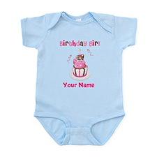 Birthday Girl Cake Infant Bodysuit