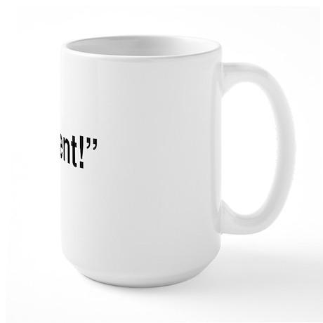 Call My Agent Large Mug