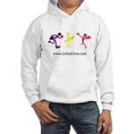 Three guys of Go Eat Give Hooded Sweatshirt