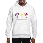 Three guys of Go Eat Give Hooded Sweatshirt