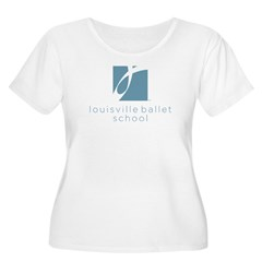 Louisville Ballet School Women's Plus Size Scoop T