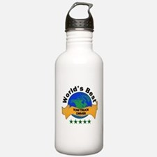 Funny Tow truck driver Water Bottle