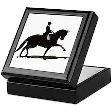Elegant Dressage Keepsake Box