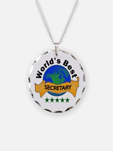 Funny Secretary Necklace