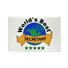 Funny Best secretary Rectangle Magnet