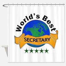 Cute Best secretary Shower Curtain