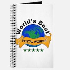 Unique Post office worker Journal