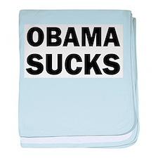 Obama Sucks Anti Obama baby blanket