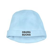 Obama Sucks Anti Obama baby hat