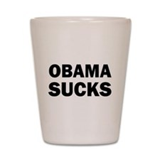 Obama Sucks Anti Obama Shot Glass